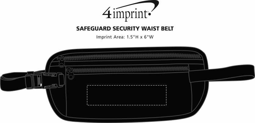 Imprint Area of Safeguard Security Waist Belt