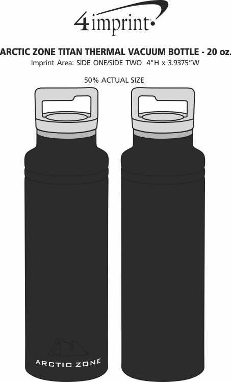 Imprint Area of Arctic Zone Titan Thermal Vacuum Bottle - 20 oz.