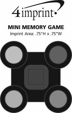 Imprint Area of Mini Memory Game