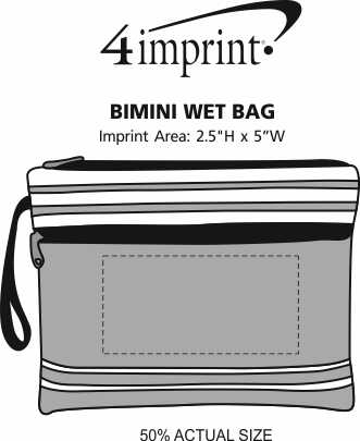 Imprint Area of Bimini Wet Bag