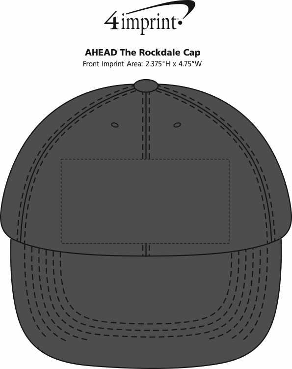 Imprint Area of AHEAD The Rockdale Cap