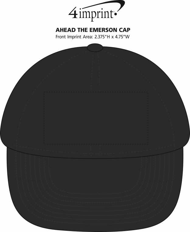 Imprint Area of AHEAD The Emerson Cap