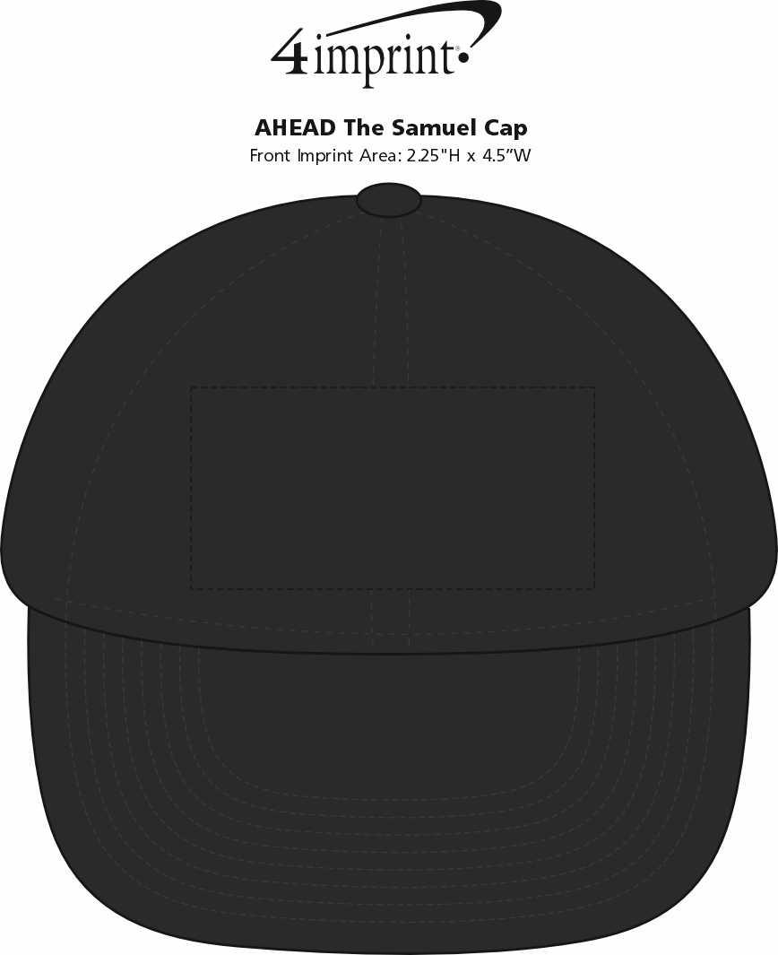 Imprint Area of AHEAD The Samuel Cap