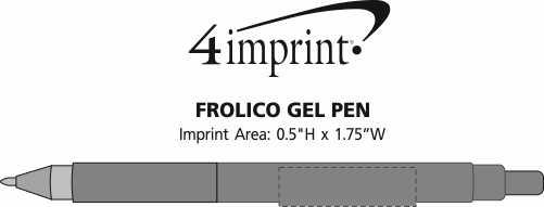 Imprint Area of Frolico Pen