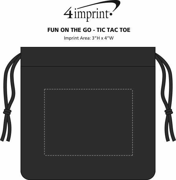 Imprint Area of Fun On the Go - Tic Tac Toe