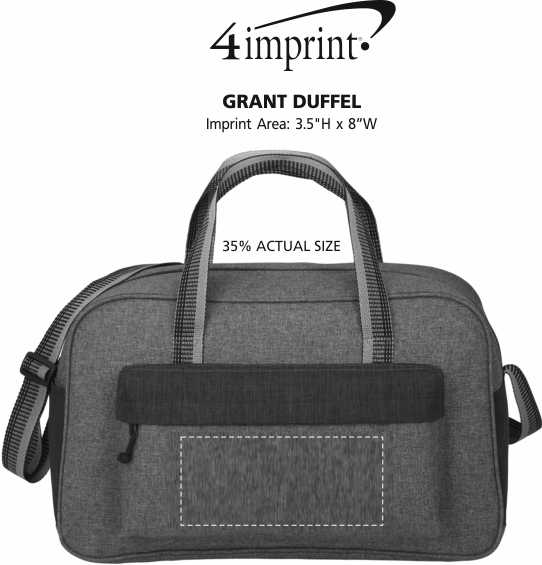 Imprint Area of Grant Duffel