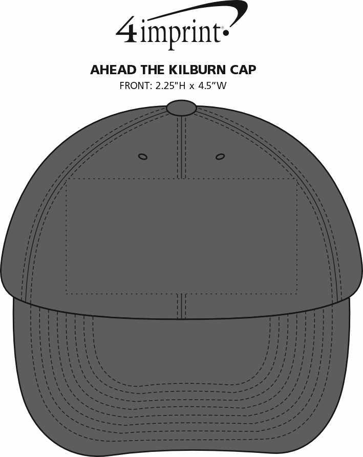Imprint Area of AHEAD The Kilburn Cap