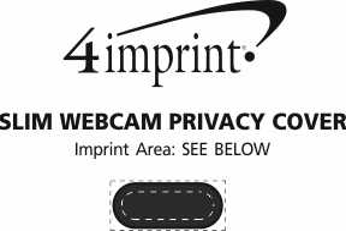 Imprint Area of Slim Webcam Privacy Cover