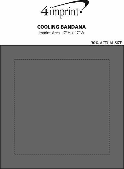 Imprint Area of Cooling Bandana