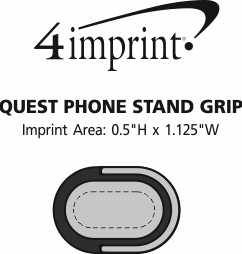 Imprint Area of Quest Phone Stand Grip