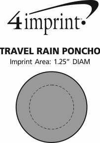 Imprint Area of Travel Rain Poncho