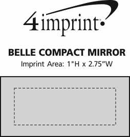Imprint Area of Belle Compact Mirror