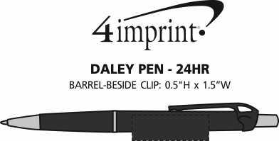 Imprint Area of Daley Pen - 24 hr