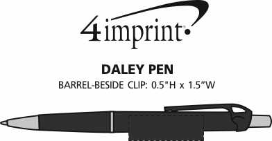 Imprint Area of Daley Pen