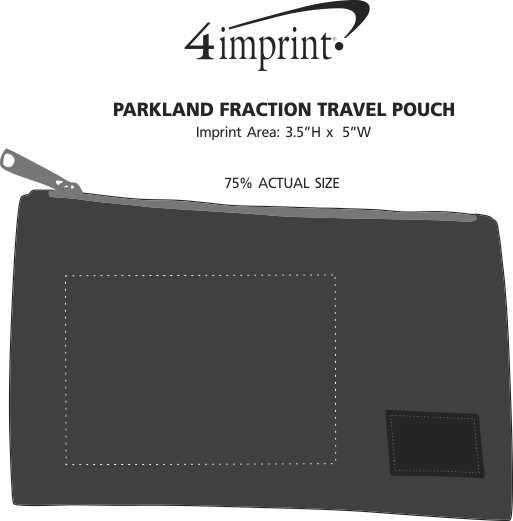 Imprint Area of Parkland Fraction Travel Pouch