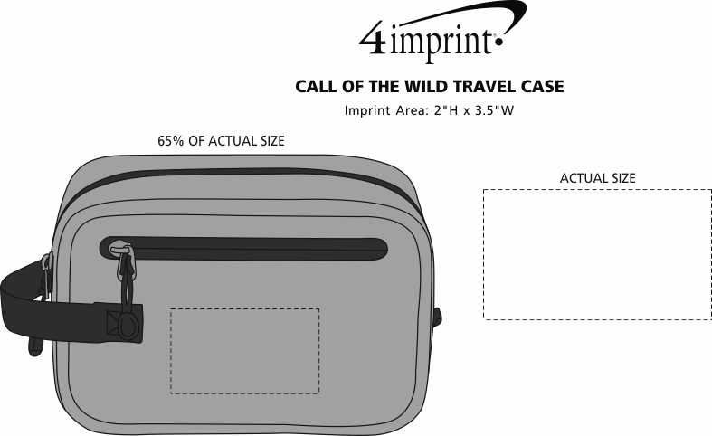 Imprint Area of Call of the Wild Travel Case