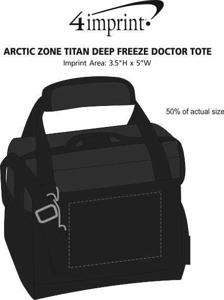 Imprint Area of Arctic Zone Titan Deep Freeze Doctor Tote