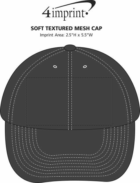 Imprint Area of Soft Textured Mesh Cap