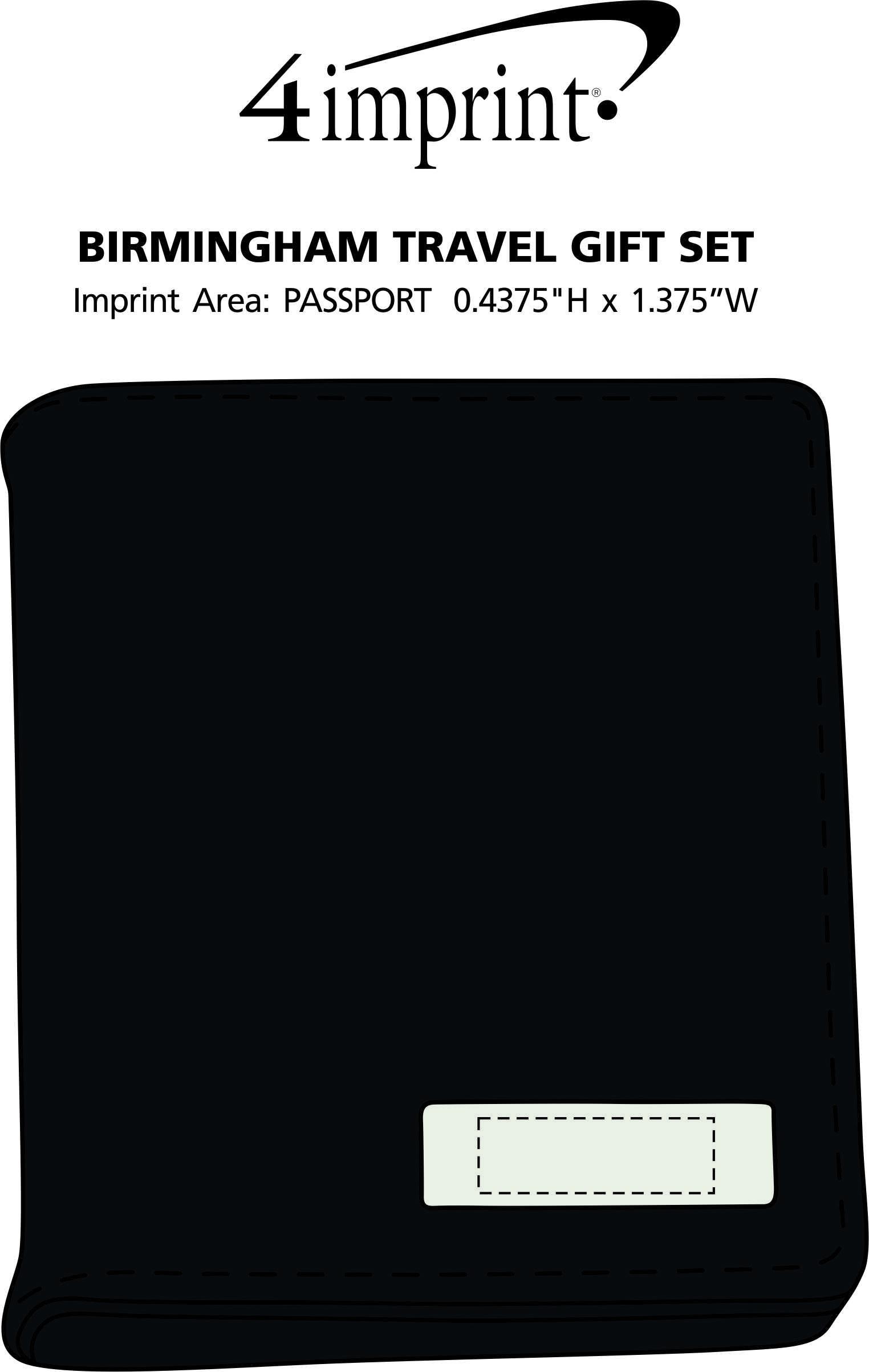 Imprint Area of Birmingham Travel Gift Set