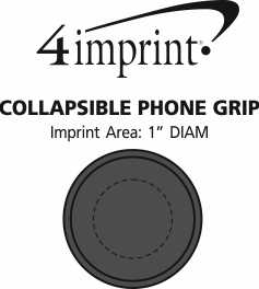 Imprint Area of Collapsible Phone Grip