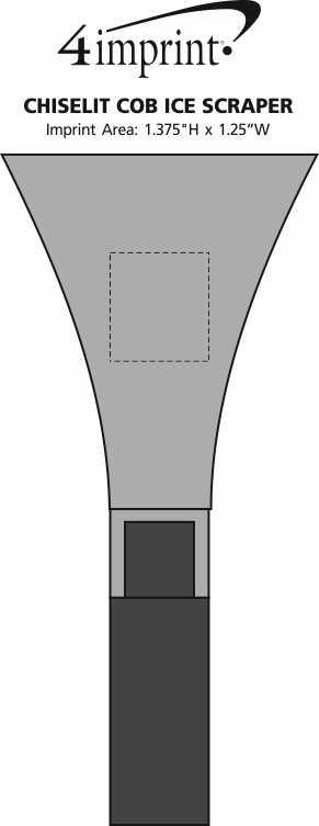 Imprint Area of Chiselit COB Ice Scraper