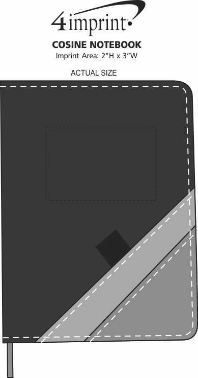 Imprint Area of Cosine Notebook