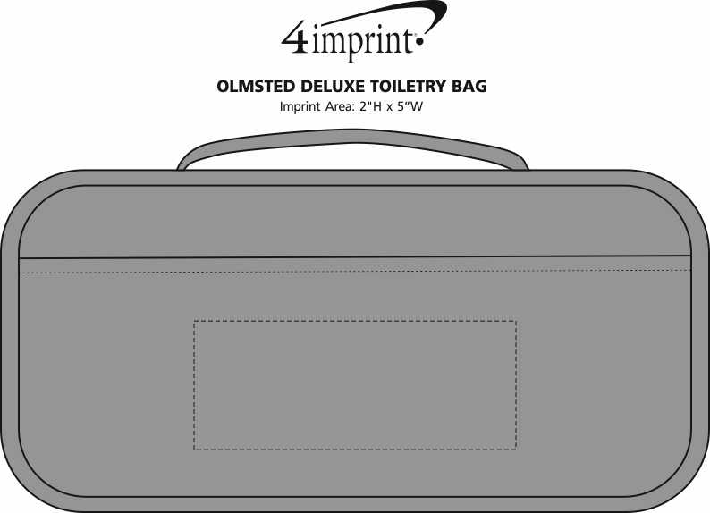 Imprint Area of Olmsted Deluxe Toiletry Bag