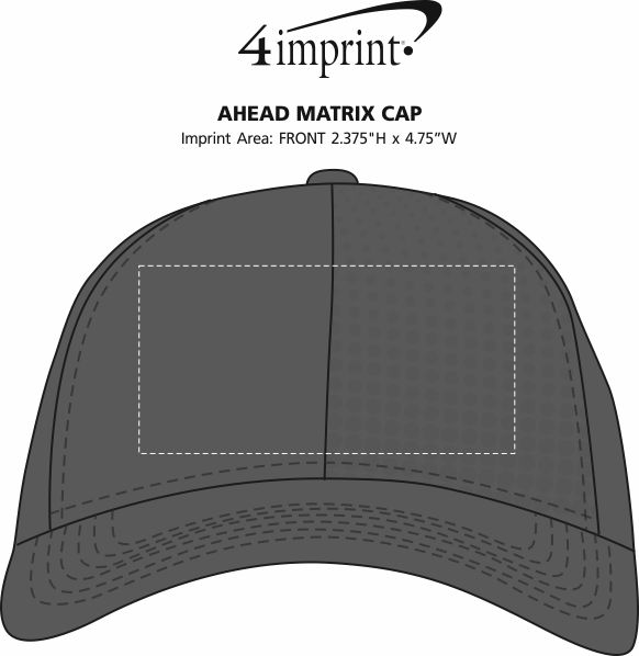Imprint Area of AHEAD Matrix Cap