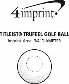 Imprint Area of Titleist® TruFeel Golf Ball