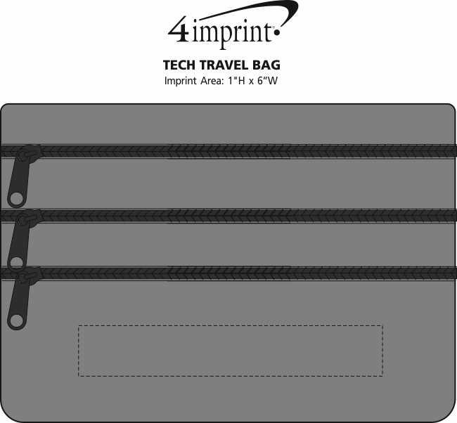 Imprint Area of Tech Travel Bag