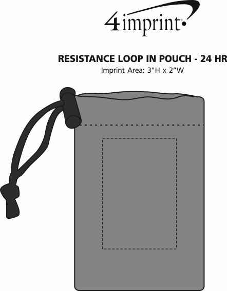 Imprint Area of Resistance Loop in Pouch - 24 hr