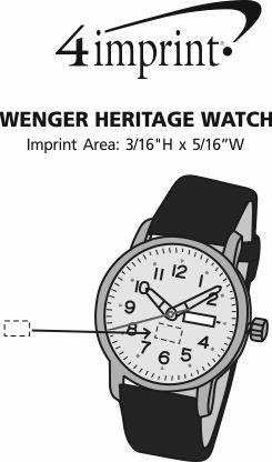 Imprint Area of Wenger Heritage Watch