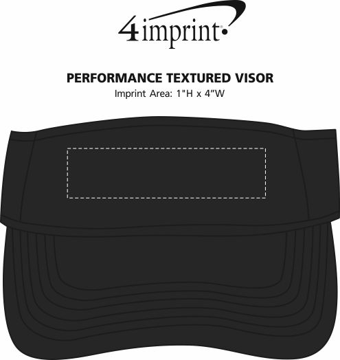 Imprint Area of Performance Textured Visor