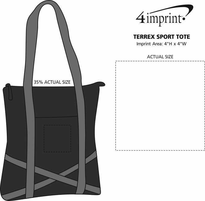 Imprint Area of Terrex Sport Tote