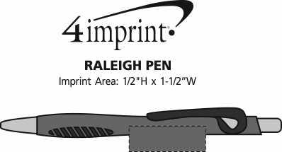 Imprint Area of Raleigh Pen
