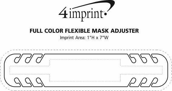 Imprint Area of Full Color Flexible Mask Adjuster