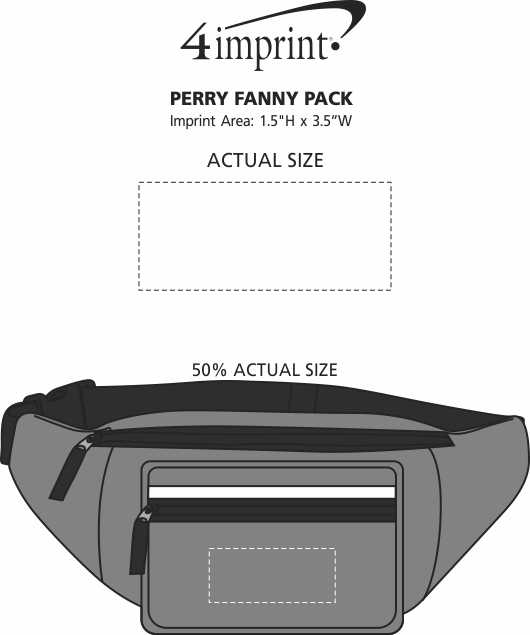 Imprint Area of Perry Fanny Pack