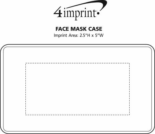 Imprint Area of Face Mask Case