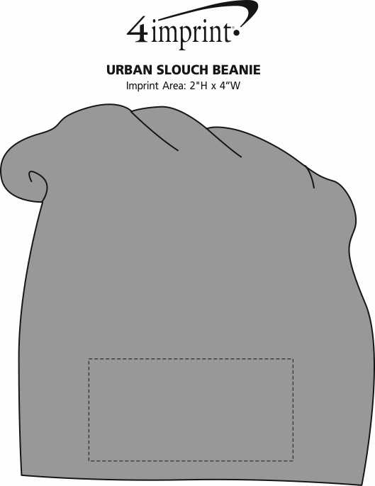 Imprint Area of Urban Slouch Beanie