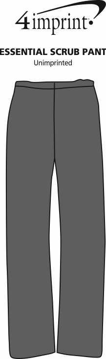 Imprint Area of Essential Scrub Pant