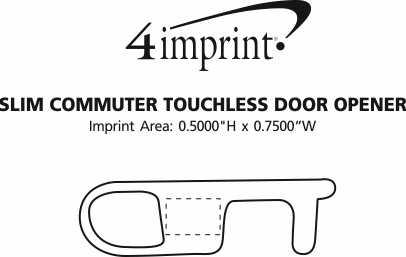 Imprint Area of Slim Commuter Touchless Door Opener