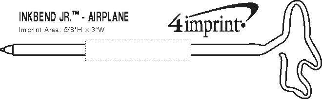 Imprint Area of Inkbend Standard - Airplane