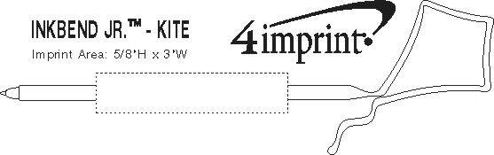 Imprint Area of Inkbend Standard - Kite