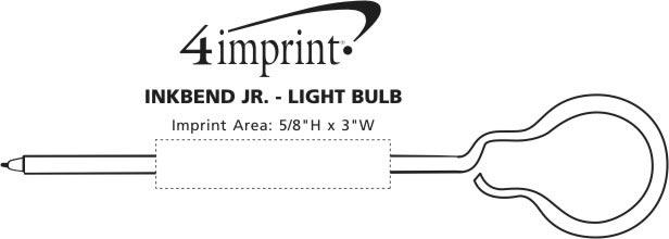 Imprint Area of Inkbend Standard - Light Bulb