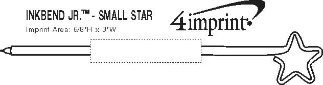 Imprint Area of Inkbend Standard - Star/Small