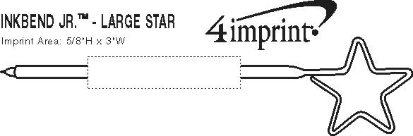 Imprint Area of Inkbend Standard - Star/Large