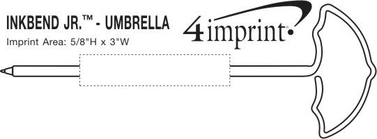 Imprint Area of Inkbend Standard - Umbrella