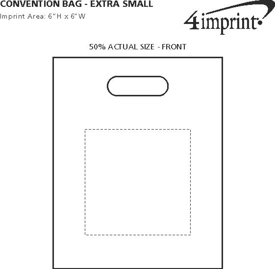 "Imprint Area of Convention Bag - 12"" x 9-1/2"""