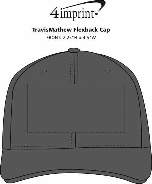 Imprint Area of TravisMathew Flexback Cap