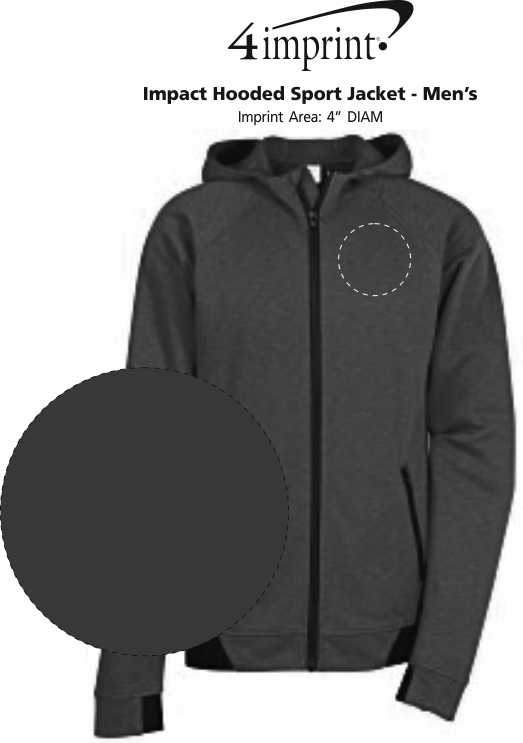 Imprint Area of Impact Hooded Sport Jacket - Men's